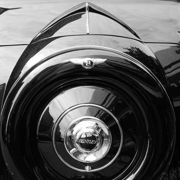 Photograph - Vintage Bentley 3 by Andrew Fare