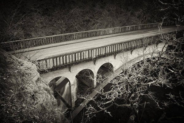 Photograph - Vintage Bridge by Jon Ares