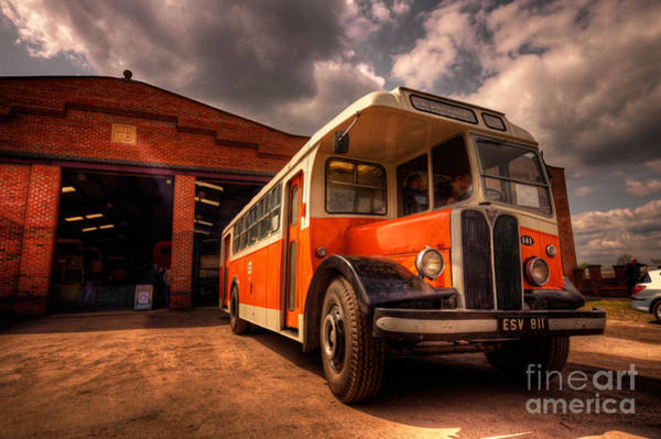 Wall Art - Photograph - Vintage Bus  by Rob Hawkins