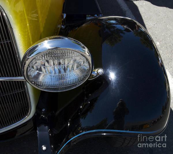 Vintage Car Reflection Art Print