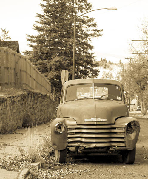 Photograph - Vintage Chevy  by Fran Riley