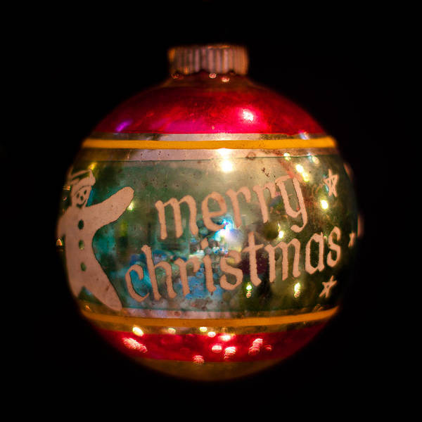 Photograph - Vintage Christmas Ornament IIi by David Patterson