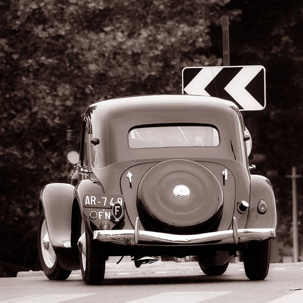 Photograph - Vintage Citroen 4 by Andrew Fare