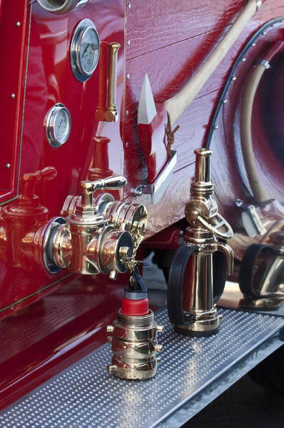 Photograph - Vintage Fire Truck 1 by Jill Reger