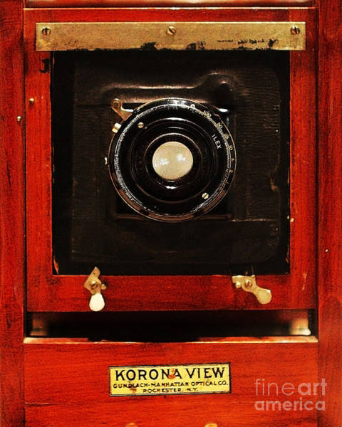 Photograph - Vintage Korona View Camera . 7d13356 by Wingsdomain Art and Photography