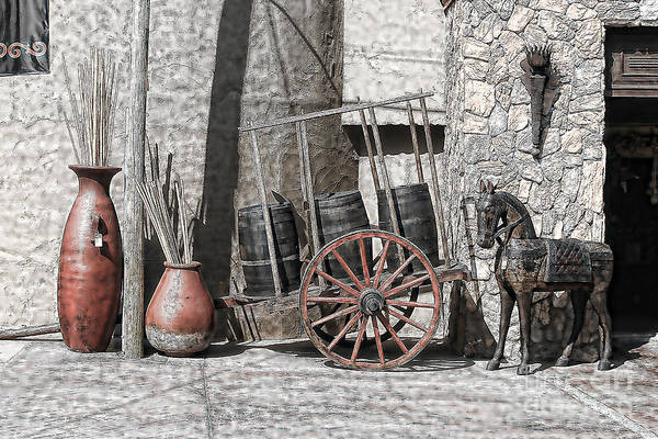 Ensenada Photograph - Vintage Museum Display by Lawrence Burry