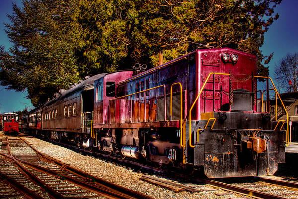 Photograph - Vintage Passenger Train II by David Patterson