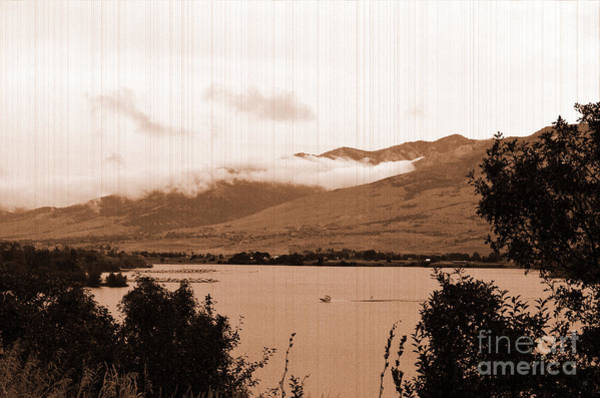 Photograph - Vintage Pine View Resevoir by Donna Greene