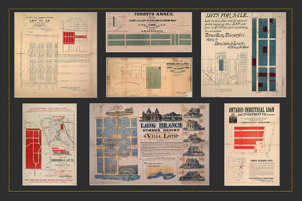 Photograph - Vintage Real Estate Flyers 2 by Andrew Fare