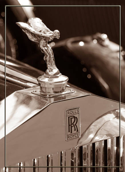 Photograph - Vintage Rolls Royce 1 by Andrew Fare