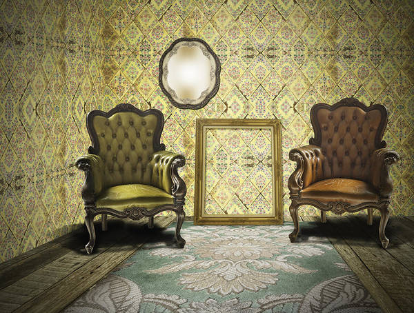Wall Art - Photograph - Vintage Room Interior by Setsiri Silapasuwanchai