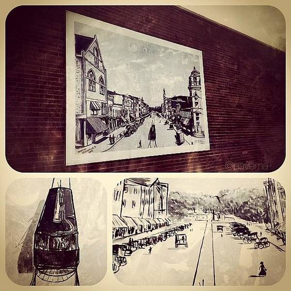 Drawing Wall Art - Photograph - Vintage Turn-of-the-century Greenville by Natasha Marco
