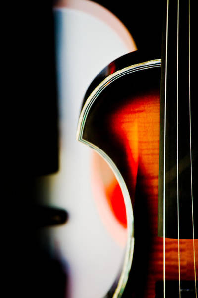 Hakon Photograph - Violin by Hakon Soreide
