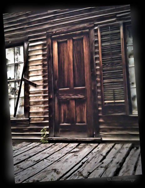Photograph - Virginia City Ghost Town Door I by Susan Kinney