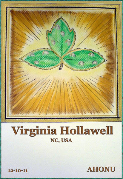 Painting - Virginia Hollawell by Ahonu
