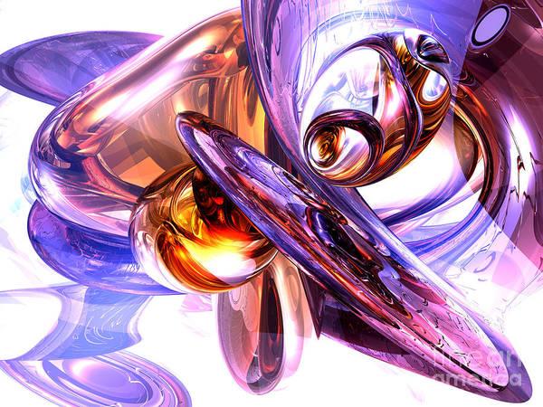 Wall Art - Digital Art - Vivacious Abstract by Alexander Butler