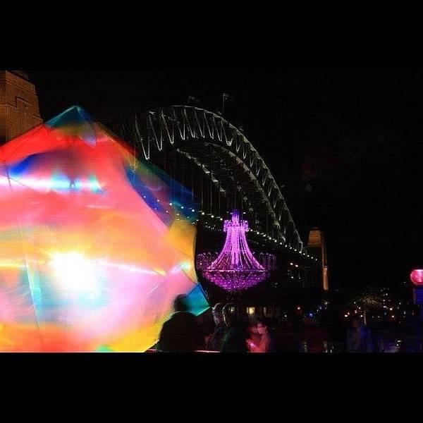 Vivid Wall Art - Photograph - Vivid Sydney Festival 2012 by Sydney Australia