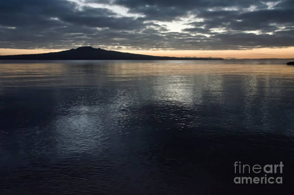 Devonport Wall Art - Photograph - Volcano Just Before Sunrise by Yurix Sardinelly
