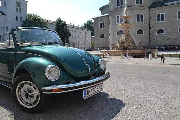 Volkswagen Kafer Photograph - Volkswagen Beetle by Arthur Hofer