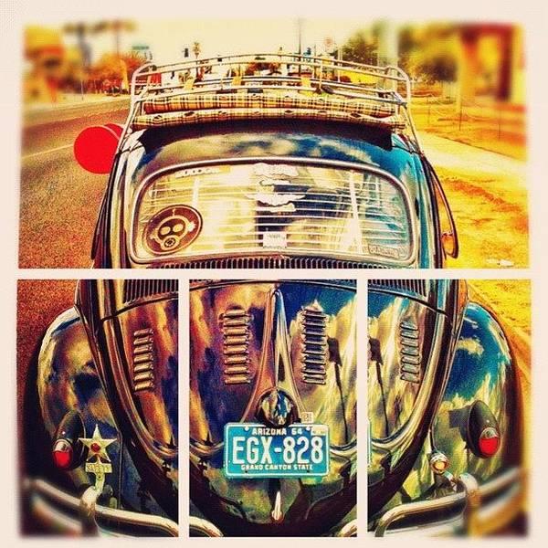 #volkswagen #bug #beetle #ragtop Art Print