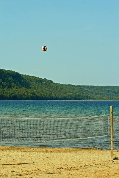 Photograph - Volley It  by Cyryn Fyrcyd