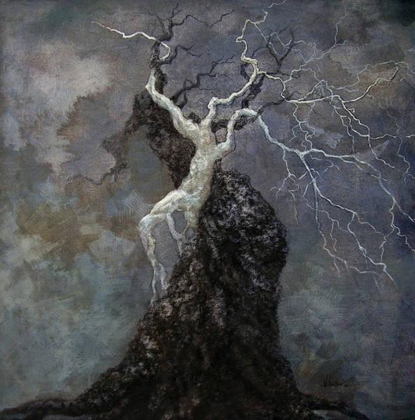 Entangled Painting - Vriksha 06 by Shankar Subramaniam