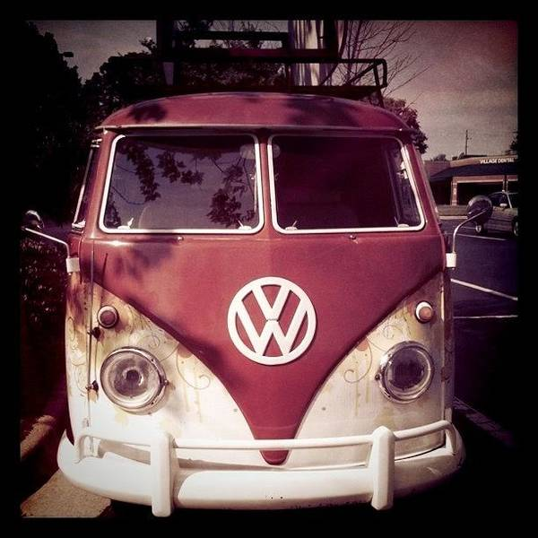Vw Bus Art Print
