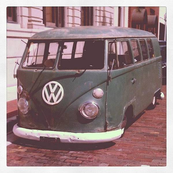 Vw In Downtown Fort Myers. #vw Art Print