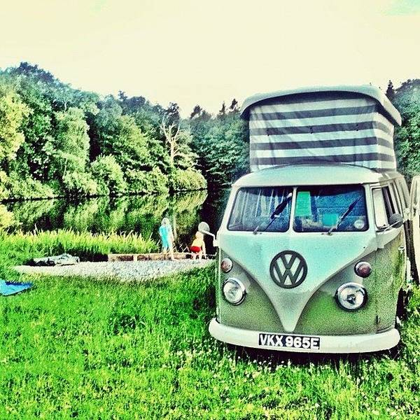 #vw That's Camping Art Print