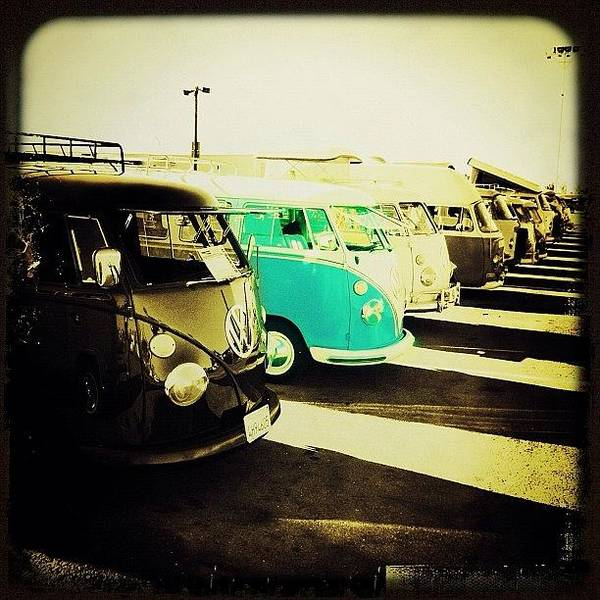 #vw #volkswagon #bus #buses Art Print