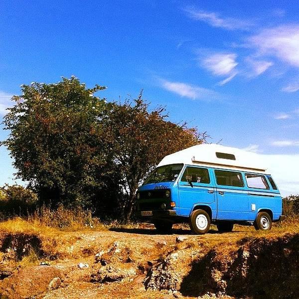 Vw Camper Photograph - #vw #vwcamper #camper #summer #sun by Ash Hughes