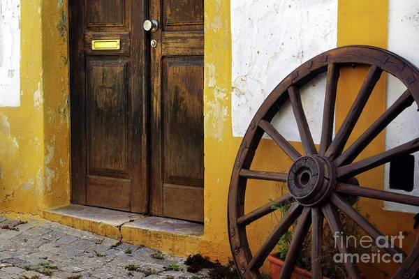 Caravan Photograph - Wagon Wheel by Carlos Caetano