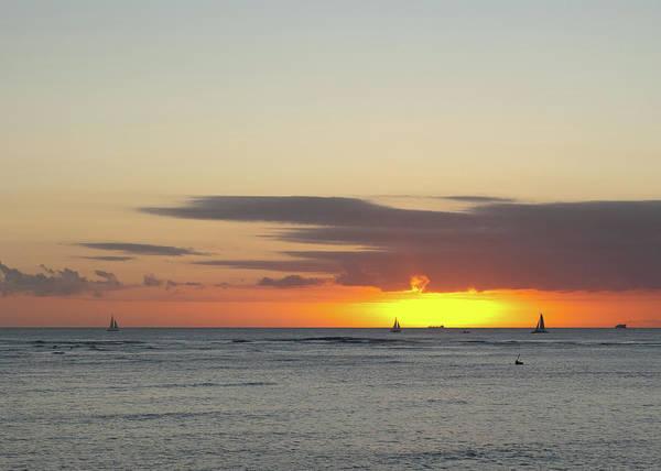 Photograph - Waikiki Sunset by Dan McManus