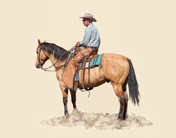 Ranch Digital Art - Waiting by Dewain Maney