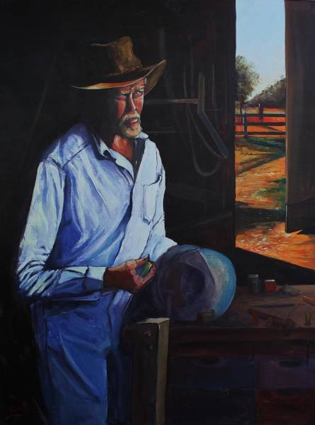 Painting - Waiting For Rain by Kathy  Karas