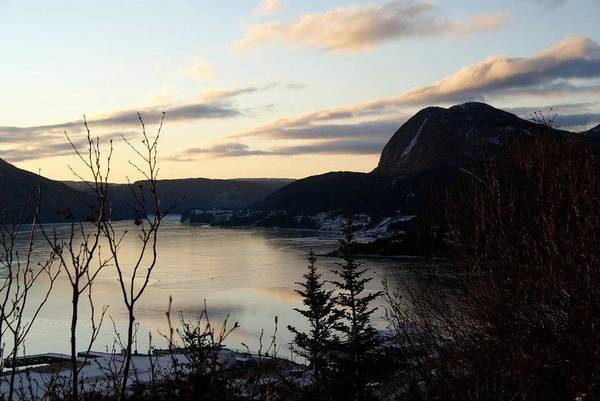 Gros Morne Photograph - Waiting For The Day by Natasha Martin