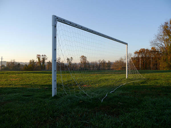 Photograph - Waiting For The Goalie by Richard Reeve