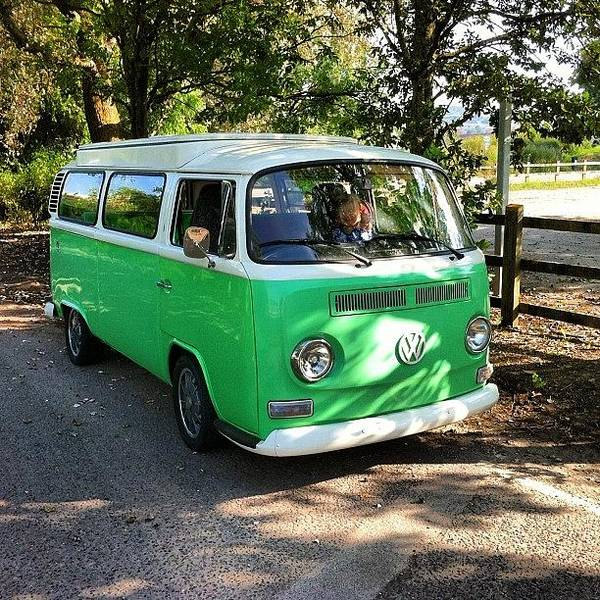 Vw Kombi Photograph - Waiting For The Others On Way To Summer by Jimmy Lindsay