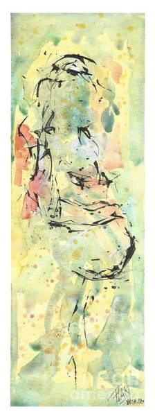 Pregnancy Mixed Media - Waiting For You by Fla Arakaki