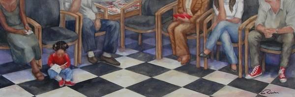 Painting - Waiting by Paula Robertson