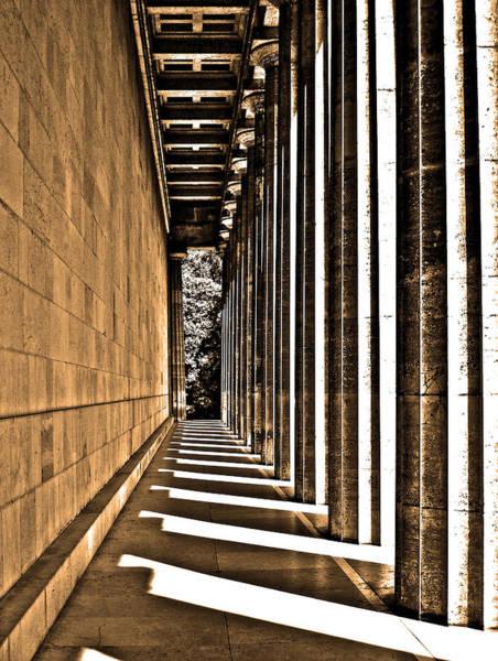Photograph - Walhalla Colonnade ... by Juergen Weiss
