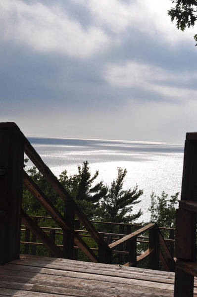 Manistee National Forest Wall Art - Photograph - Walk To The Lake by Sabrina  Hall