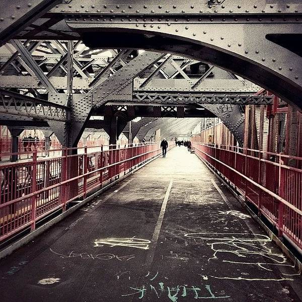 Wall Art - Photograph - Walked Over The Williamsburg Bridge by Vivienne Gucwa