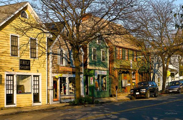Photograph - Walkin In Rockport Massachusetts by Michelle Constantine
