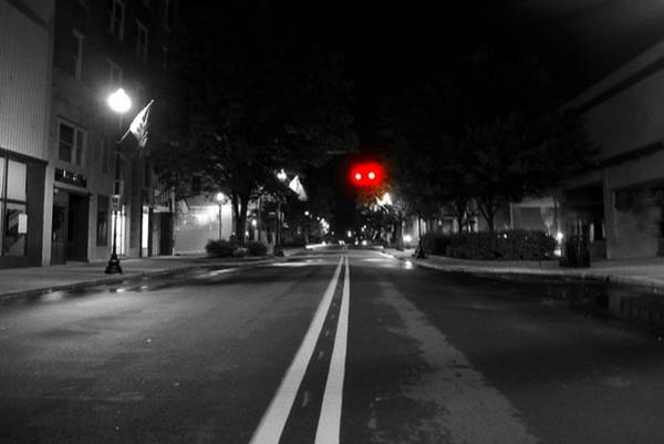 Cantrell Wall Art - Photograph - Walking After Midnight  by Tammy Cantrell