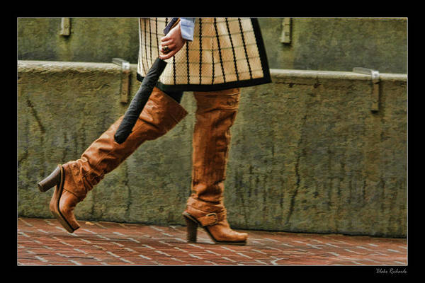 Photograph - Walking Boots by Blake Richards