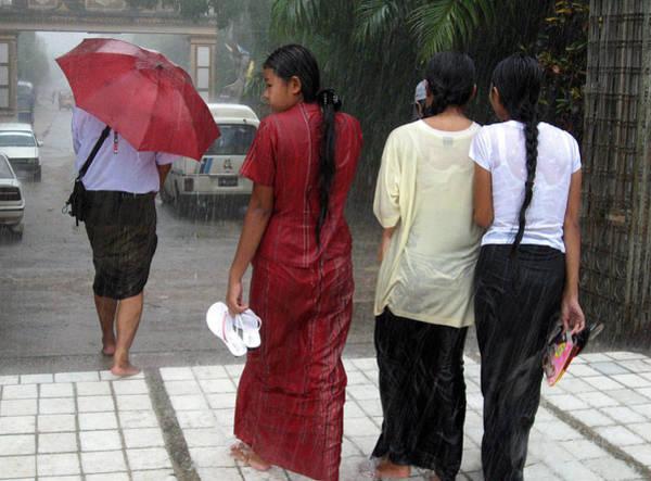 Photograph - Walking In The Rain by RicardMN Photography