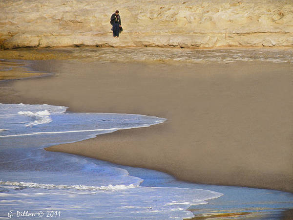 Photograph - Walking The Coast  by Grace Dillon