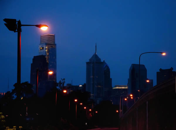 Photograph - Walking Through The Sleepy City by Bill Cannon