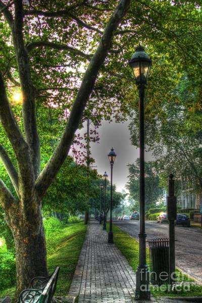 Photograph - Walkway Down Riverside Drive by Jeremy Lankford